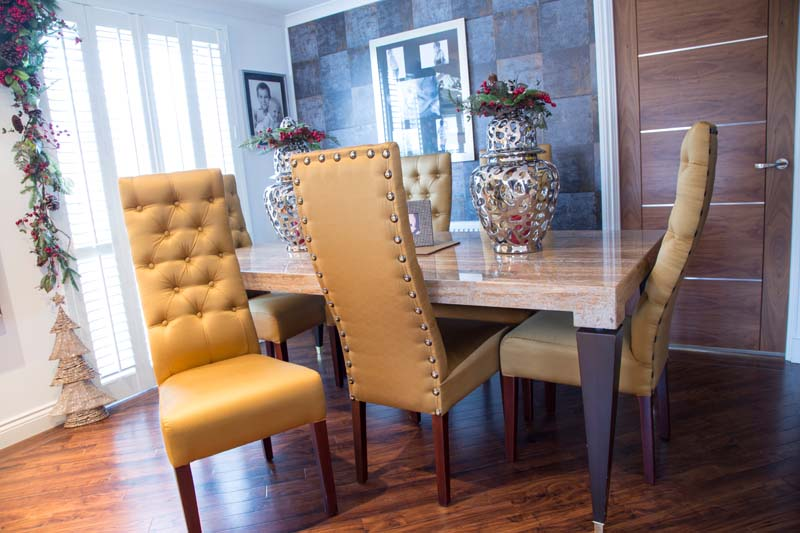 Dinning Chairs by Suite Illusions