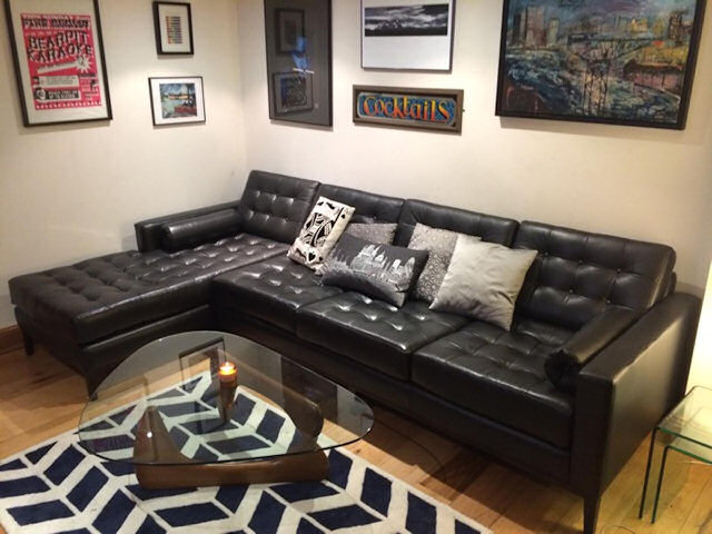 Leather Sofas by Suite Illusions