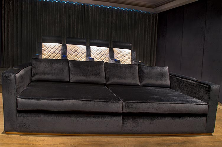 Upholstered Cinema Seats
