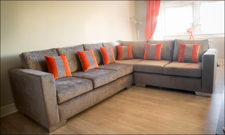Corner Sofas by Suite Illusions