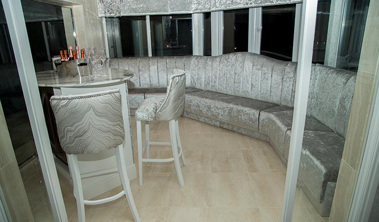 Bespoke Banquette Seating for the home