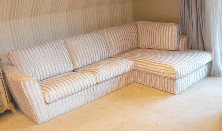 corner sofa by Suite Illusions