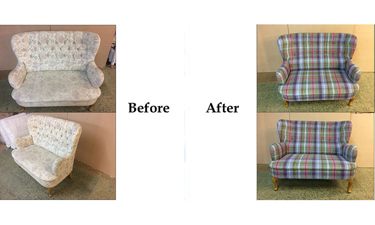 Sofa Before/After 2