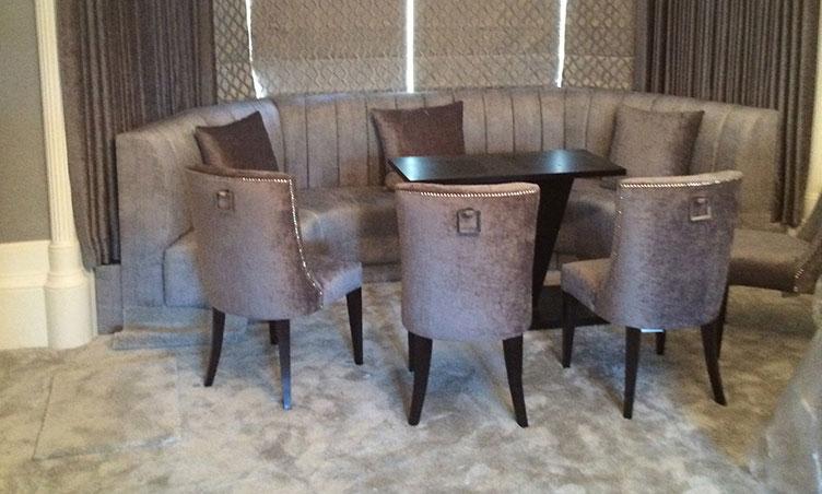 Sacramento Sofa & Sacramento Sofa: A Bespoke fitted sofa made to fit exact into the ...